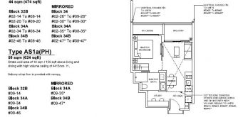 forett-at-bukit-timah-floor-plan-1-plus-study-as1a-singapore