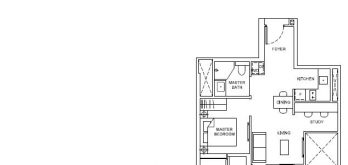 forett-at-bukit-timah-floor-plan-1-plus-study-as2b-singapore