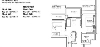 forett-at-bukit-timah-floor-plan-2-bedroom-b2b-singapore