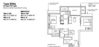 forett-at-bukit-timah-floor-plan-2-plus-study-bs5a-singapore