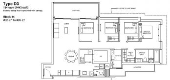forett-at-bukit-timah-floor-plan-4-bedroom-d3-singapore